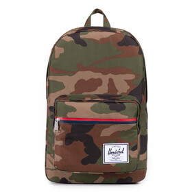 Herschel Pop Quiz Rugzak, woodland camo/multi zip